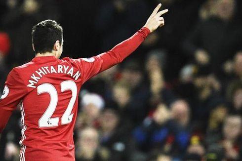 Manchester United Tanpa Mkhitaryan saat Final di Wembley