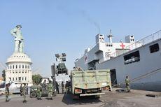 Bawa Logistik dan Tenaga Medis, 2 Armada KRI Merapat ke Lombok