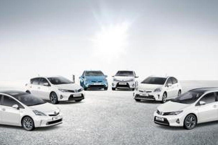 Mobil hibrida Toyota