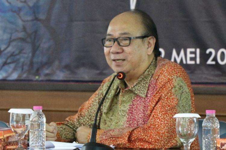 Prof. Siswanto Agus Wilopo, Rabu (9/5) di Fakultas Psikologi UGM.