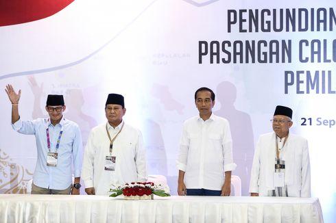 Rekapitulasi Nasional Selesai, Jokowi-Ma'ruf Menang di 21 Provinsi