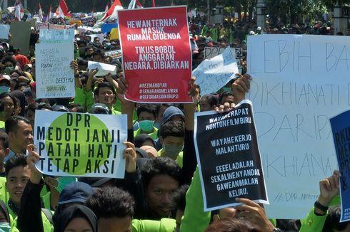 Isu Turunkan Jokowi Dinilai Sengaja Ganggu Fokus Aksi Tuntut Pembatalan UU KPK dan RUU Lain
