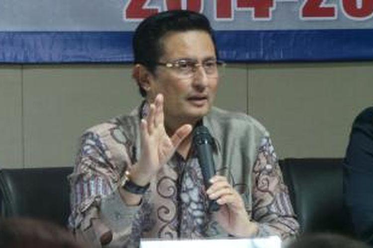 Wakil Ketua Umum Partai Golkar, Fadel Muhammad.