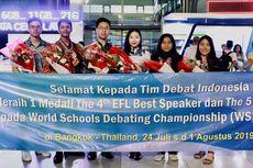 Prestasi Gemilang, Indonesia Peringkat 5 Lomba Debat Internasional