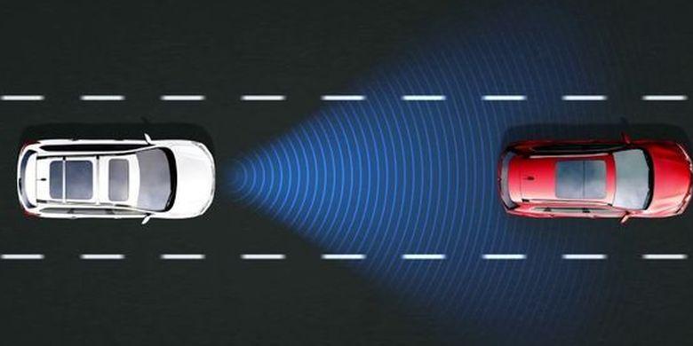 Teknologi terbaru Nissan, yaitu Intelligent Cruise Control