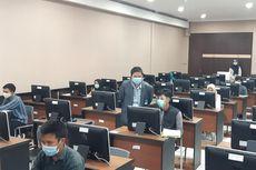 Gangguan Server Warnai UTBK Sesi Pertama Gelombang I di UNS Solo
