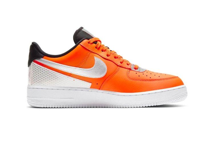 Nike x 3M Air Force 1 07 LV8 Total Orange