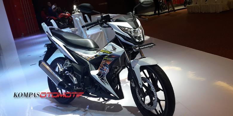 Honda New Sonic 150R menjadi andalan Honda terbaru.