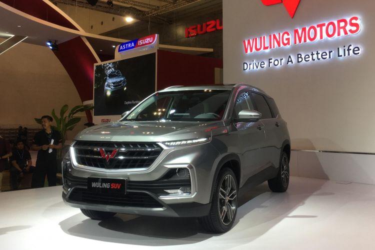 Wuling Motors kembali menjajakan model baru untuk Indonesia, kali ini SUV low, Baoujun 530, di GIIAS 2018.