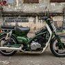Bebek Moge, Honda Super Cub Dijejali Mesin 250 cc 4-silinder