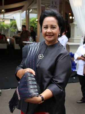 Devi Pandjaitan, tokoh yang menggagas pelaksanaan pameran ulos bertajuk Ulos, Hangoluan & Tondi di Museum Tekstil, Jakarta, mulai 20 September hingga 7 Oktober 2018.