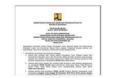 9.073 Pelamar Lolos Seleksi Administrasi CPNS 2019 di Kementerian PUPR, Ini Informasinya