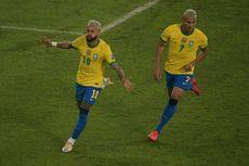 Hasil Brasil Vs Peru Copa America - Neymar Bawa Selecao Pesta 4 Gol!