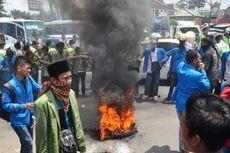 Demo, Mahasiswa Bogor Blokade Tol Jagorawi