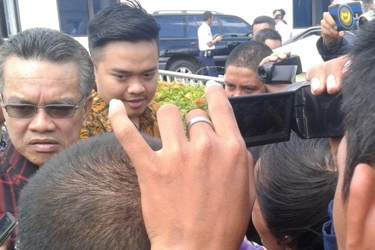 Wali Kota Samarinda Syaharie Jaang diperiksa Polda Kaltim terkait dugaan SK untuk pungutan di pintu masuk Pelabuhan Palaran.