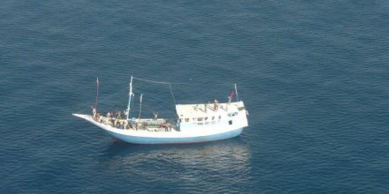 Ilustrasi perahu