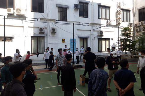 Reaktif Covid-19, 1 Demonstran di Balai Kota Tangsel Diisolasi di Pusat Karantina