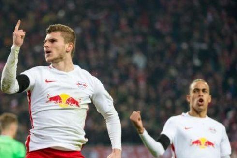 Duel Pemuncak Top Skor Bundesliga, Timo Werner Tantang Lewandowski