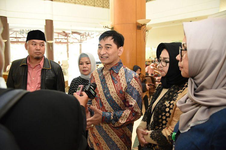 Wakil Kelua Badan Urusan Rumah Tangga DPR RI Achmad Dimyati Natakusumah