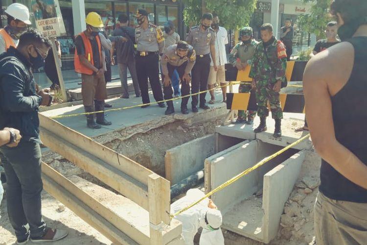 Penemuan tengkorak di proyek drainase Labuan Bajo