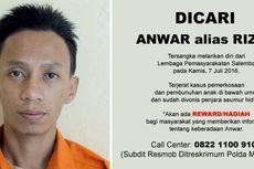 Polisi Kepung Lokasi yang Diduga Tempat Persembunyian Anwar di Jasinga
