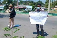 2 Mahasiswa Tuntut DPRD NTT Panggil Pejabat yang Pesta di Pulau Semau