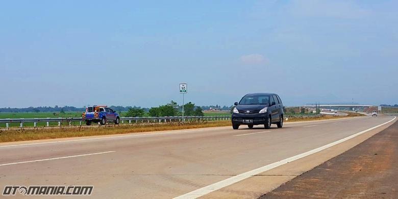 Berkendara siang hari di Cipali, perhatikan Ban dan logistik