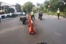 Kronologi Video Pengendara Moge yang Kabur dari Razia PSBB