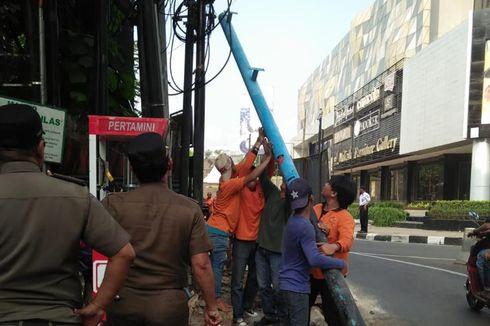 Rumah 4 Lantai Dibongkar Satpol PP Jaksel karena Langgar Peraturan Perizinan