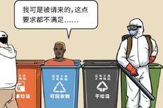 Saat Warga China Mengalami Diskriminasi Akibat Virus Corona, Warga Asing di China Mendapat Perlakuan Serupa