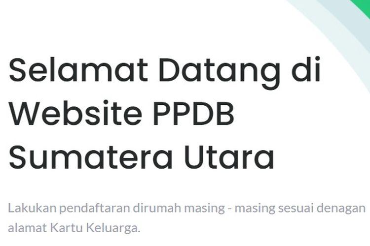 PPDB Sumatera Utara (Sumut)