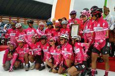 Gowes 5.124 Kilometer, GPN Pecahkan Rekor Muri