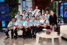 Tim Bola yang Diselamatkan dari Goa Tampil di Acara Ellen DeGeneres