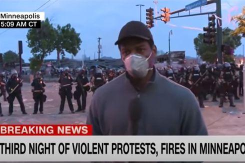 Usai Bebas, Jurnalis CNN yang Liput Demonstrasi George Floyd Ungkap Perlakuan Polisi