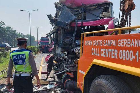 Kecelakaan Beruntun 4 Bus di Tol, Ingat Lagi Angka Keramat 3 Detik