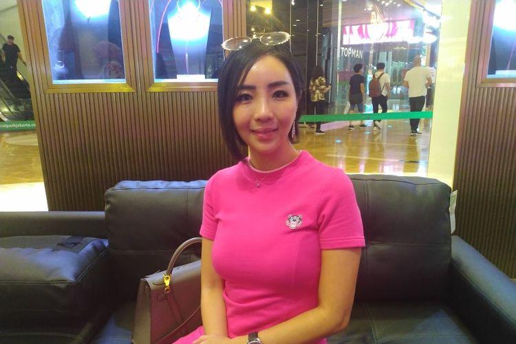 Airyn Tanu (COO Passion Jewelry) dalam acara peluncuran Sports Jewelry oleh Passion Jewelry di Mall Central Park, Jakarta, Rabu (12/02/2020)