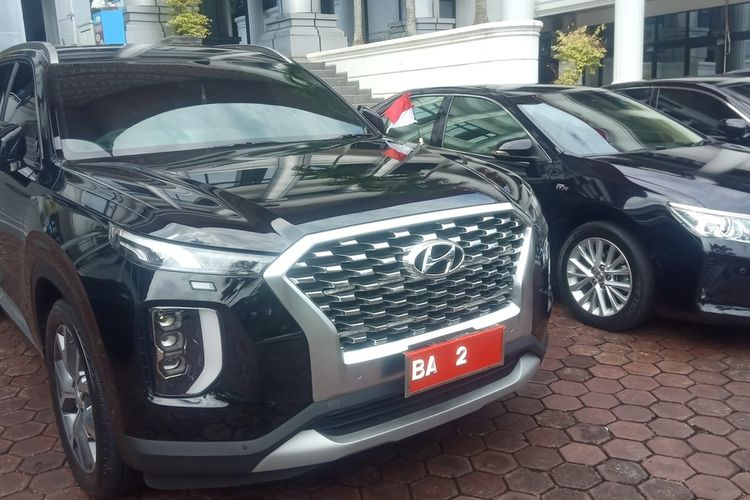 Mobil dinas baru Wakil Gubernur Sumbar Audy Joinaldy, Hyundai Palisade