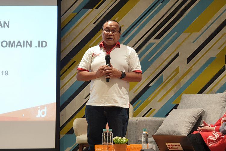 CEO Pengelola Nama Domain Internet Indonesia (PANDI), Andi Budimansyah.
