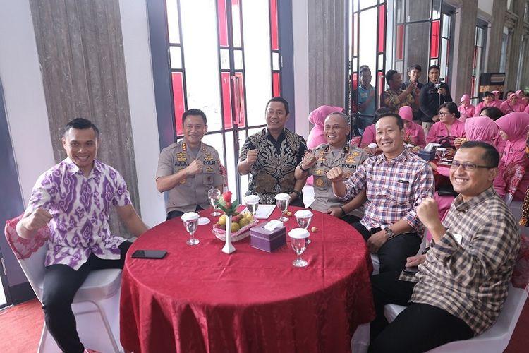 Wali Kota Semarang Lepas Mantan Kapolrestabes untuk Naik Jabatan