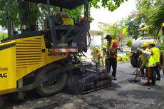 Inovatif, Aspal Jalan di Semarang Berbahan Baku Sampah Plastik Kresek