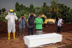Pemakaman dengan Protap Covid-19 di TPU Jombang Berkurang Tiga Kali Lipat