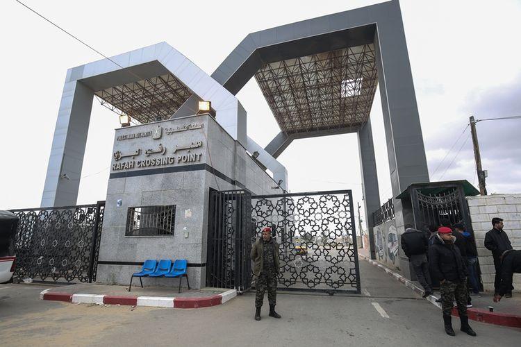 Gerbang perbatasan Rafah yang memisahkan wilayah Gaza dengan Mesir kini kembali dikuasai oleh Hamas.