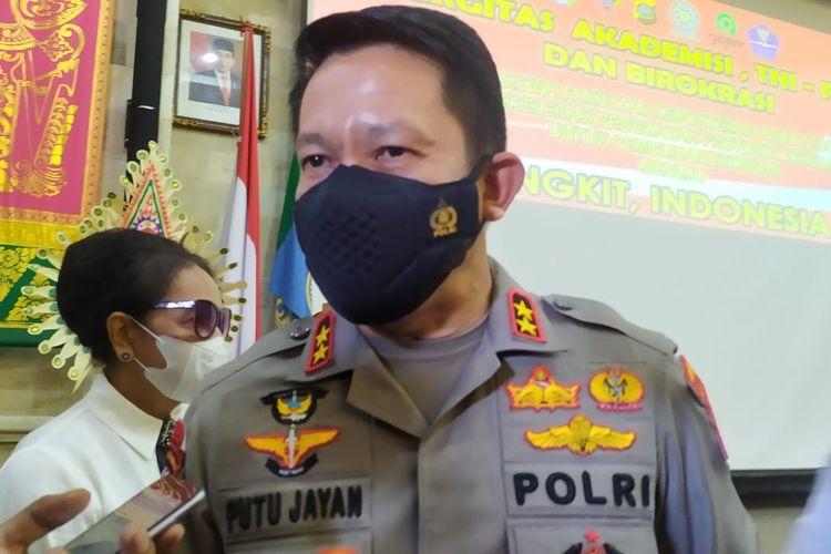 Kapolda Bali Irjen Pol I Putu Jayan Danu Putra