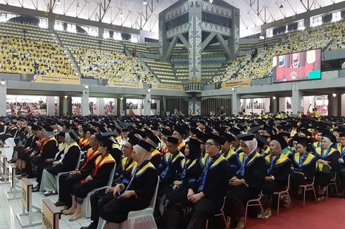 UI Wisuda 1.853 Mahasiswa Program Sarjana Paralel, Ekstensi, dan Vokasi