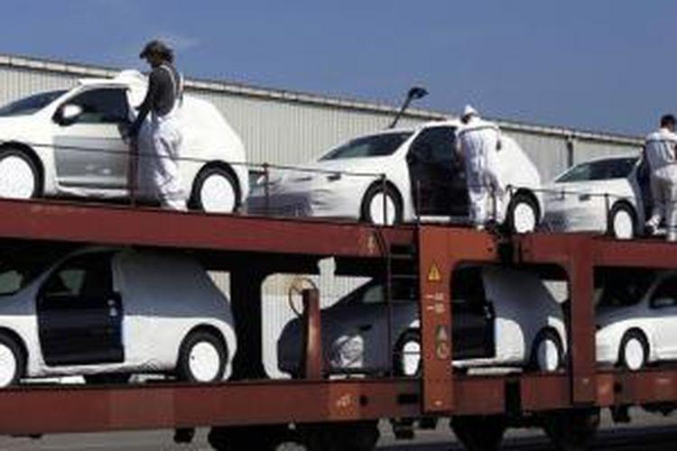 Penjualan mobil di Eropa terus naik.