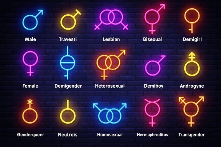 Ilustrasi orientasi seksual
