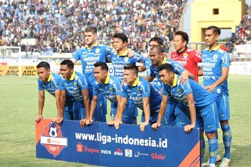 Klasemen Liga 1 2019, Persib Bandung Dekati Papan Atas