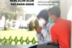 Viral Video Sepasang Muda-mudi Mesum di Alun-alun Caruban Madiun
