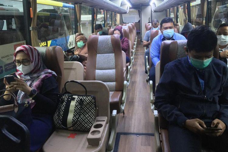 BPTJ kembali sediakan layanan bus alternatif gratis di Stasiun KRL