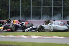 Vettel: Saya Melihat Sesuatu Berwarna Putih di Kaca Spion...
